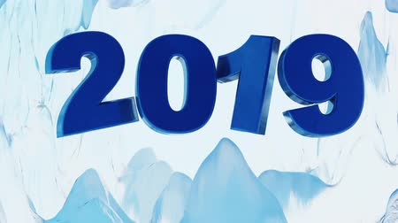 kelder : Big 2019 Blue Design which frosting in a Blue-toned Ice Cave