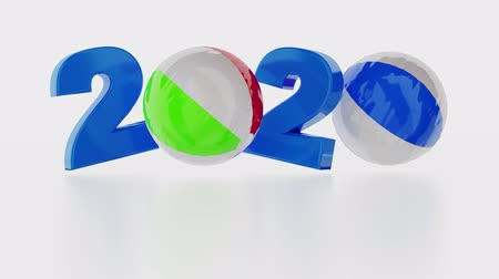 Beach Ball 2020 design in Infinite Rotation