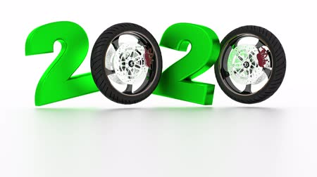 Motorbike Wheels 2020 design in Infinite Rotation Wideo