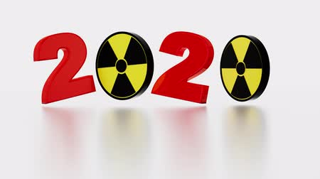 nakládané : Radioactive Symbol 2020 Title in Infinite Rotation