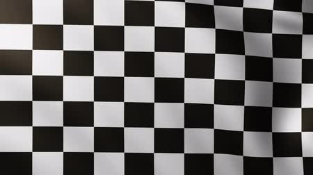por que : Large Checkered Flag fullscreen background fluttering in the wind