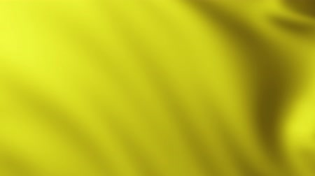 Large Yellow Flag fullscreen background fluttering in the wind