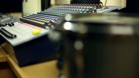 acoustical : Studio sound proofing Stock Footage