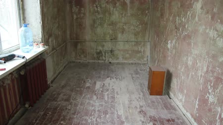 üres : Shot of empty bedroom before recondition