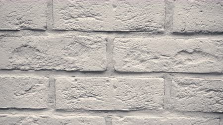 Pan white decorative brick your home. Brickwork backdrop. Unique drawing block. Clear place for your isolated text pattern. Empty space for your title copy space. Copyspace logo to blank design.