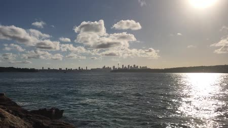 Сидней : Watsons Bay with Sydney in the background