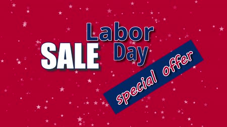 french president : Labor Day Sale, special offer text