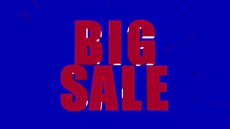 president of united states : Big Sale, special offer, only this week text Stock Footage