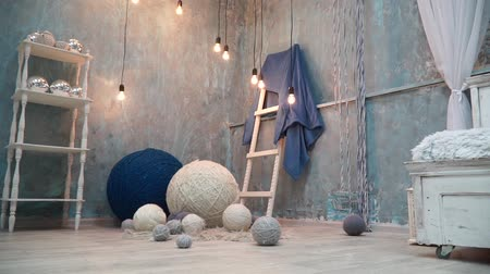 přadeno : Incredibly beautiful fabulous photo zone with giant balls of thread
