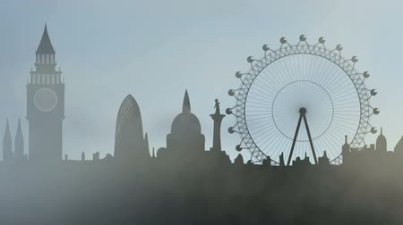 kasaba : fog in London city