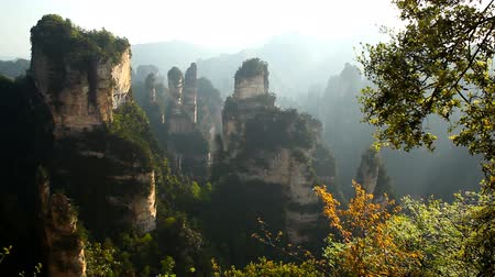 awatar : Avatar mountains. Zhangjiajie, China Wideo