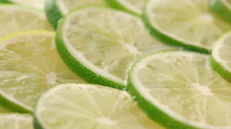 calcário : Lime slices background