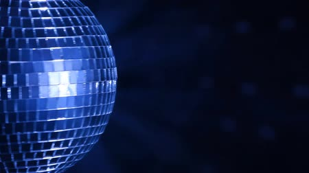 disko : Disco ball over dark background