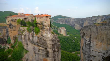 grego : Meteora at sunset. Greece