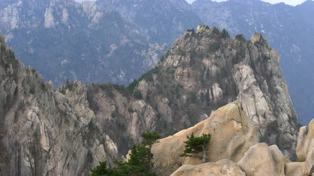 sokcho : Mountains in Seoraksan National Park, South Korea