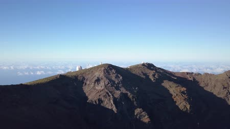 observatory : View Of Observatories From Top Of Roque De Los Muchachos, La Palma