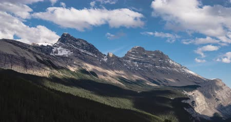 jasper : Time-lapse of the Canadian Rockies in the Summer