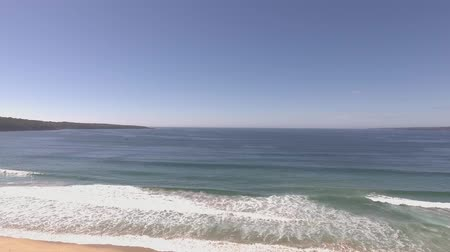 australian landscape : establishing shot of beach in Australia Stock Footage