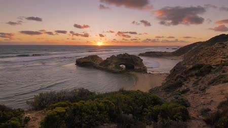 campbell : Australia beach sunset scene, Mornington Peninsula