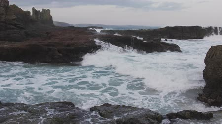denteado : landscape at Cathedral Rock, Kiama Australia.
