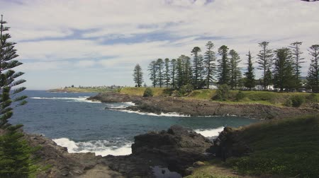 steady shot : Wollongong lighthouse park coastal landscape
