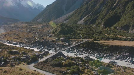 hooker : Hooker Valle in the Mount Cook National Park
