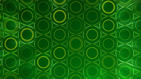 mosaico : Dark Green Circles pattern. Modern render smooth animation Abstract background with animation of wave mosaic of Circles. Technological, Technology background