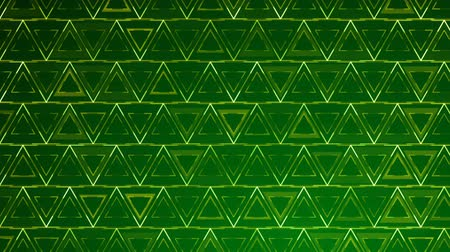 extrude : Dark Green Triangles pattern. Modern render smooth animation Abstract background with animation of wave mosaic of Triangles. Technological, Technology background