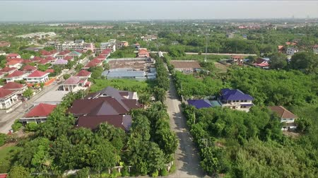 arrabaldes : Aerial view of suburban in thailand