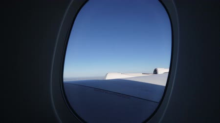 pontos : Outside view of Flying on jet plane