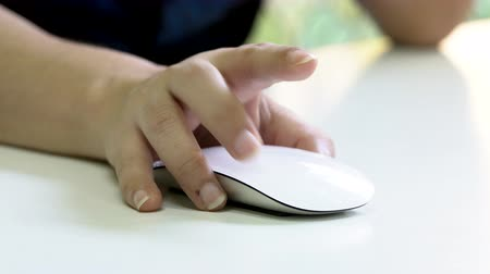 fare : Woman Hand Using a Computer Mouse
