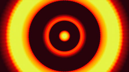 caleidoscópio :  Fractal colorful moving target and flashing or flickering flashes, flash type
