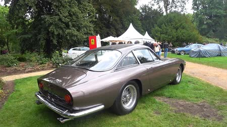 lusso : Ferrari 250 GT Berlinetta Lusso 1960s classic Italian GT car on display during the 2017 Classic Days event.