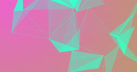 Geometric Abstract Background. Hi Tech Digital concept.