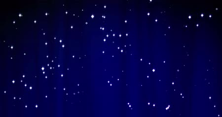 stage theater : Blue Merry Christmas background with stars. Luxury walpaper for the day of St. Valentine day Stock Footage