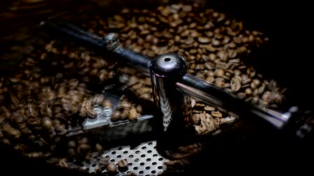 kávové zrno : green coffee roasting falls