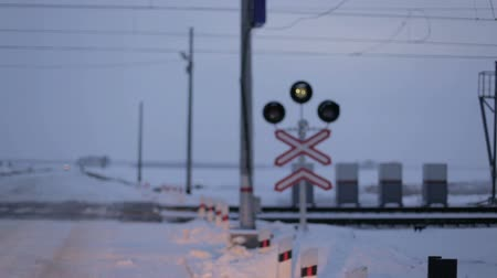 peril : Railway Crossing Warning Lights.