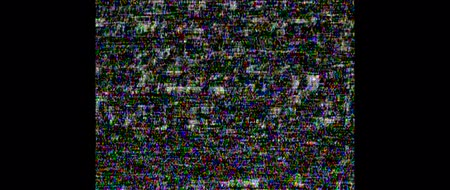 ntsc : cassette. Screen error. White TV noise. Video home system analog TV. HD. Stock Footage