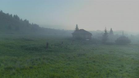 fülke : Abandoned house in the fog