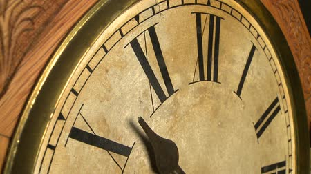 clock hands : Time lapse of antique clock