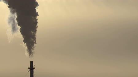 climate : Gas Plant smoke stacks