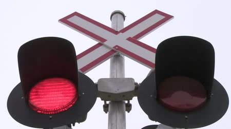 скрестив : Railway Crossing Lights