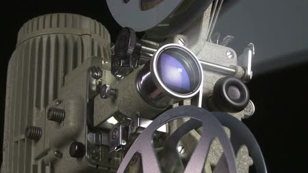 antika : Film Projector close up with beam
