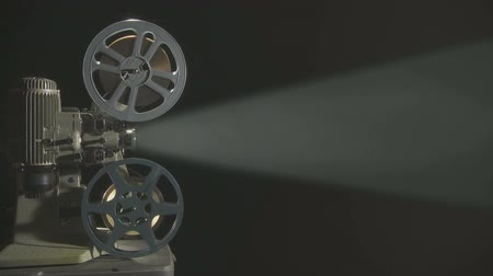 projetor : Film Projector with beam