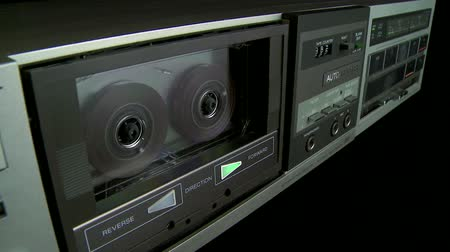 cassette : Audio Cassette playback with on and off