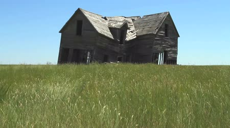 abandoned old : Old Farmhouse 03 Stock Footage