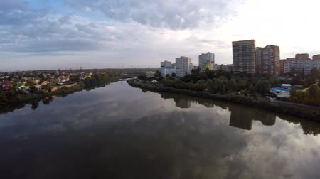 sobor : Aerial view drone footage of Rostov on Don. Surb hach