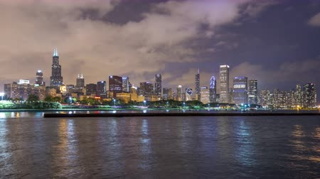 turysta : The Skyline of Chicago Wideo