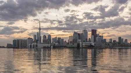 greater : The Skyline of Toronto Stock Footage