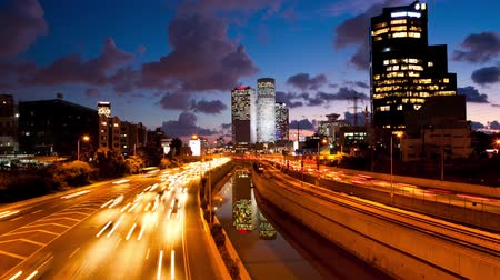 atividades : Traffic Time Lapse - Ayalon Freeway